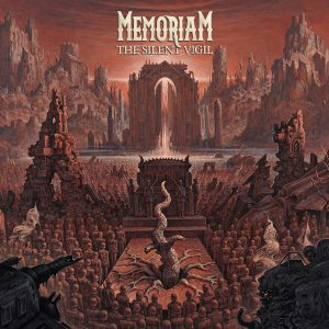 Memoriam - The Silent Vigil - Artwork