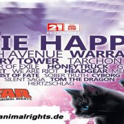 ROCK FOR ANIMAL RIGHTS OPEN AIR am 13.07. und 14.07.2018 in Sandstedt-Offenwarden
