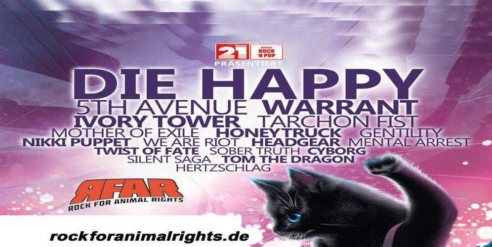 ROCK FOR ANIMAL RIGHTS OPEN AIR am 13.07. und 14.07.2018 in Sandstedt-Offenwarden
