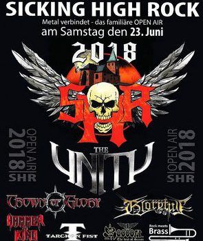 THE UNITY und TARCHON FIST am 23.6. auf dem SICKING HIGH ROCK OPEN AIR in Weselberg