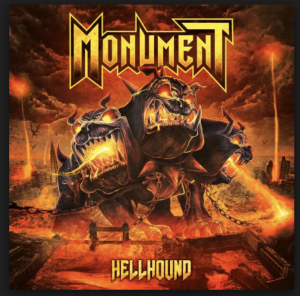 Monument – Hellhound_Cover