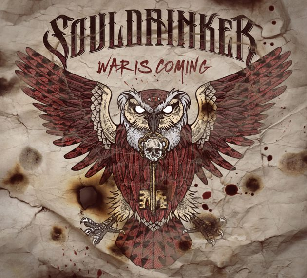 Review: SOULDRINKER – WAR IS COMING