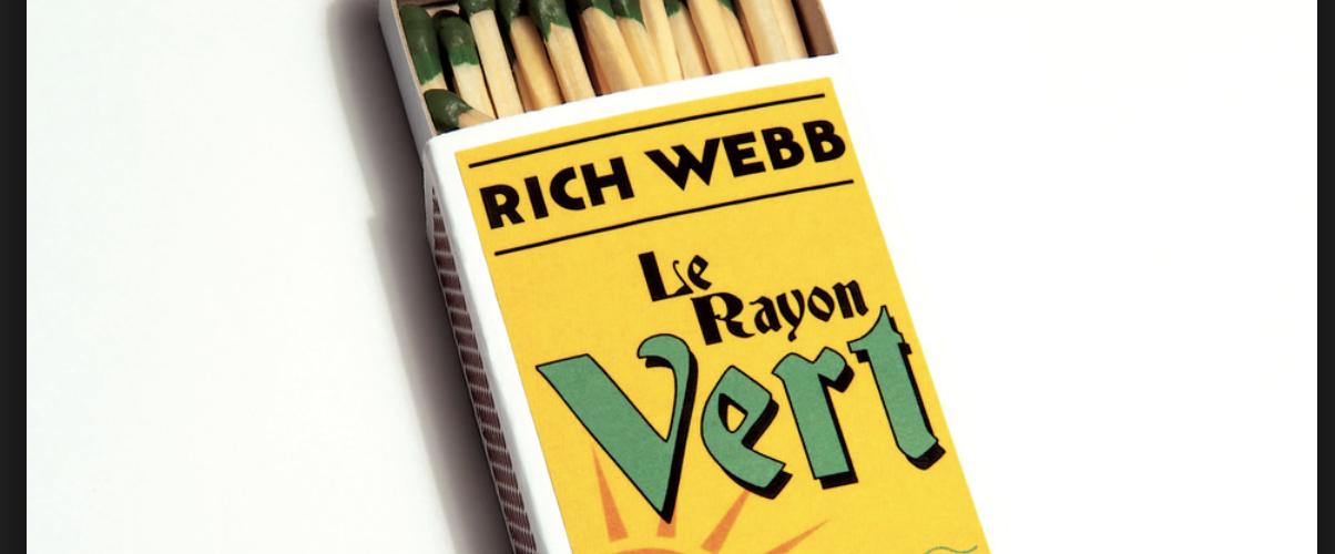 """Rich Webb Band präsentiert neues Album """"Le Rayon Vert"""" am 05. Oktober"""