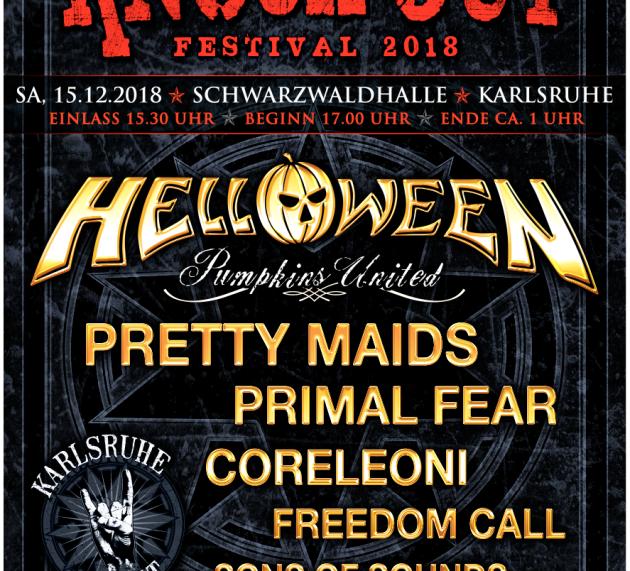 KNOCK OUT FESTIVAL 2018 – am 15.12. in Karlsruhe–Nur mehr Restkontingent an Karten