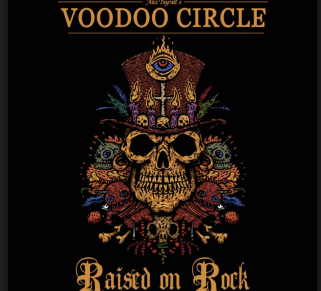 Review: VOODOO CIRCLE – RAISED ON ROCK