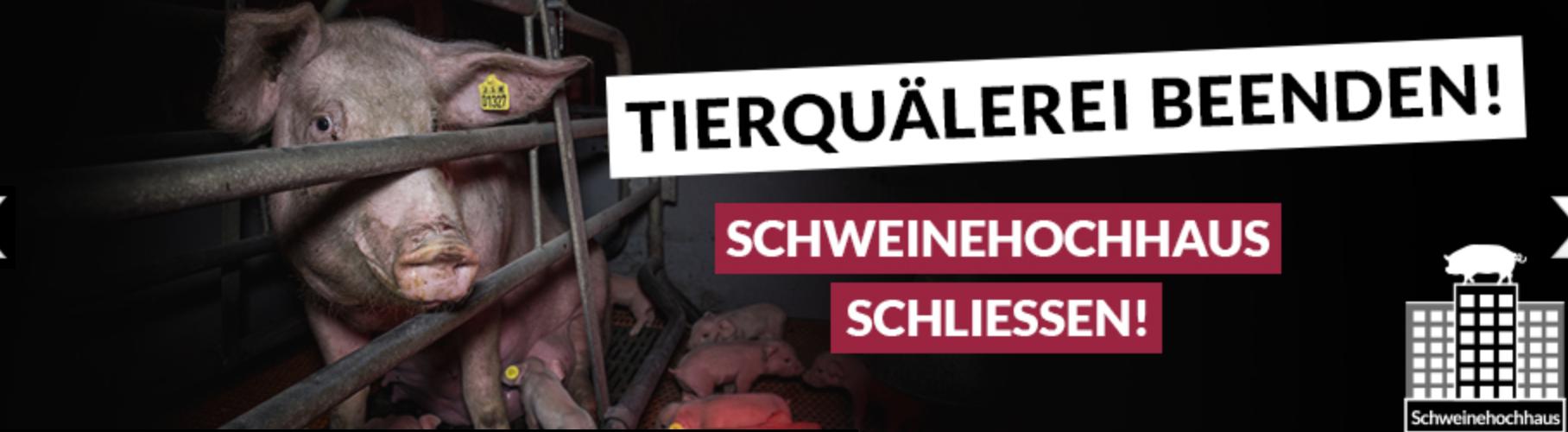 Negativpreis – Größter deutscher Tierquäler 2018 ist Schweinezüchter und Schweinehochhaus-Betreiber Michiel Taken