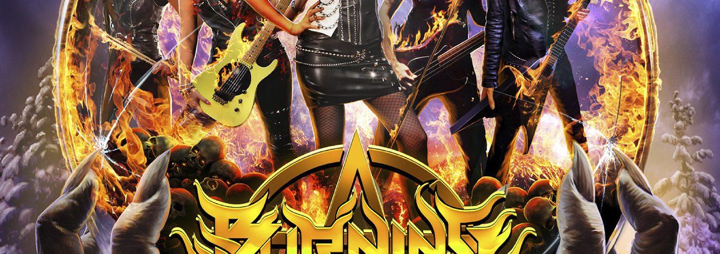 """BURNING WITCHES  – Am 9. 11. 2018 """"Hexenhammer"""" veröffentlicht und am 18.1.2019 erscheint """"Burning Witches + Burning Alive"""""""