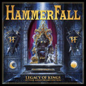Hammerfall - Legacy Of Kings 20-Year Anniversary Edition - Artwork
