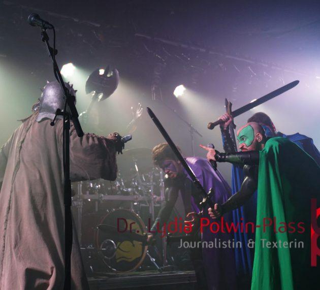 Grailknights – Pumping Iron Power – Tour 2019 – Nachbericht vom Gig im Colos-Saal