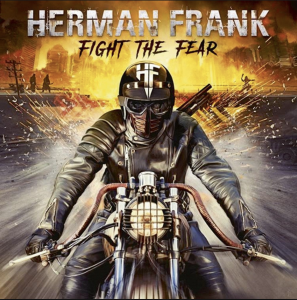 HERMAN FRANK – FIGHT THE FEAR_Artwork