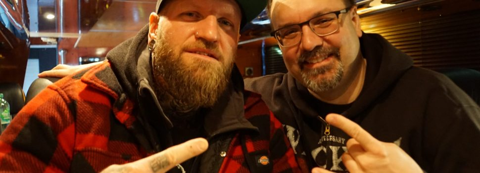 Exklusiv-Interview mit ANY GIVEN DAY Frontman DENNIS DIEHL – vierter und letzter Teil