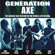 Review: Generation Axe – The Guitars That Destroyed The World – Live In China
