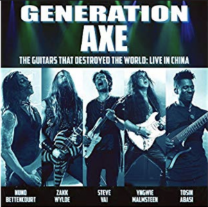 Generation Axe – The Guitars That Destroyed The World – Live In China
