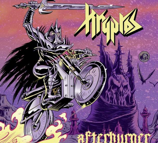 Metal-Review: KRYPTOS – AFTERBURNER