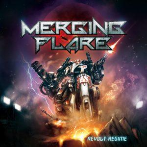 MERGING FLARE – REVOLT REGIME_Cover