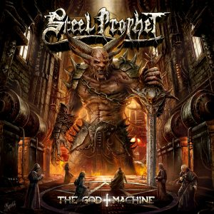 STEEL PROPHET – The God Machine_Cover
