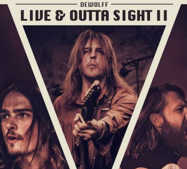 Metal-Review: DEWOLFF – LIVE & OUTTA SIGHT II
