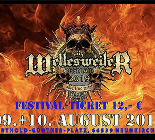 Metal-Festival Wellesweiler Open Air vom 9. bis 10.8. in Neunkirchen-Wellesweiler