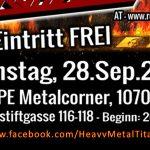 Heavy Metal Titans II -mit Martyr, Tarchon Fist und Roadwolfim Escape Wien