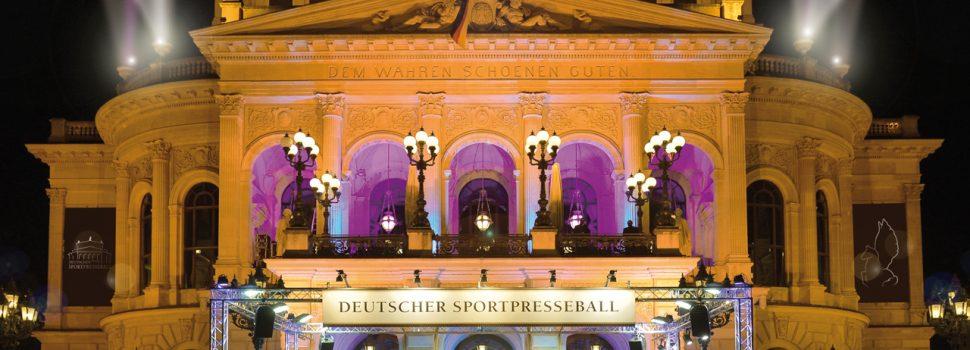 Deutscher SportpresseBall – Das Programm so bunt wie seine Gäste