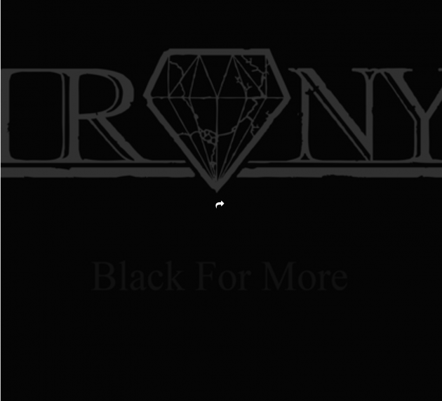 Metal-Review: IRONY – BLACK FOR MORE