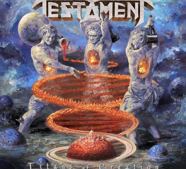 Metal-Review: TESTAMENT – Titans Of Creation