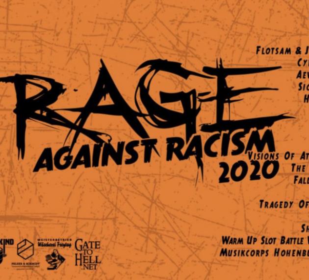 Rage against Racism Open Air Festival 2020 – unter freiem Himmel und bei freiem Eintritt