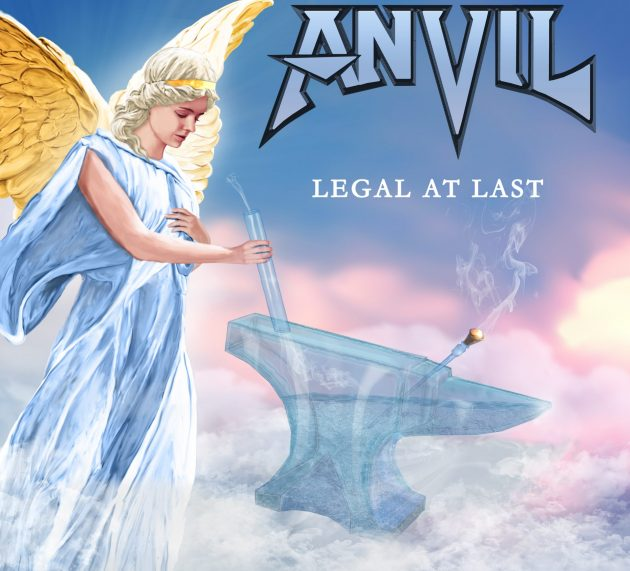 Metal-Review: ANVIL – LEGAL AT LAST