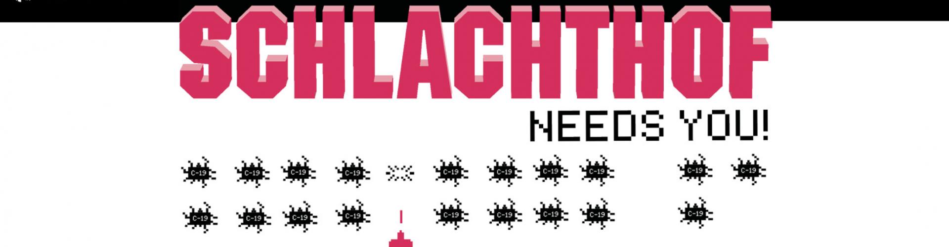 Spendenaufruf zur Rettung des SCHLACHTHOF WIESBADEN