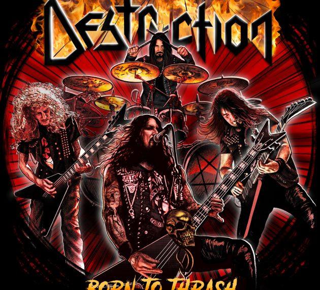 DESTRUCTION – Born To Thrash – Live In Germany