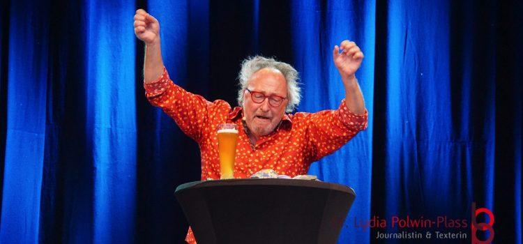 """Gute Nachrichten: Die Show """"Im Fluss"""" von Urban Priol am 15.09.2021 in Langenselbold kann stattfinden"""