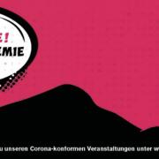Weitere Termine für corona-konforme Veranstaltungen – BIENVENUE TROTZ PANDEMIE im Schlachthof Wiesbaden