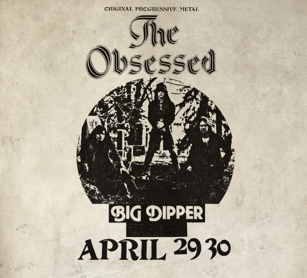 Metal-Review: THE OBSESSED – LIVE AT BIG DIPPER