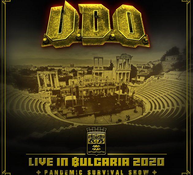 U.D.O. – DVD Live in Bulgaria 2020 – Pandemic Survival Show
