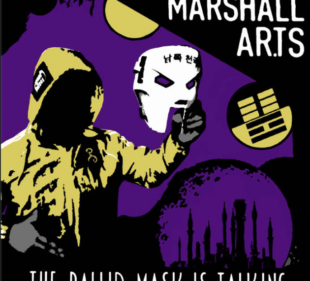 MARSHALL AR.TS – …THE PALLID MASK IS TALKING