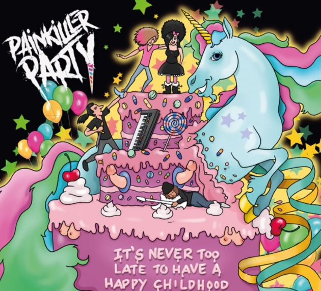 PAINKILLER PARTY – It's never too late to have a happy childhood