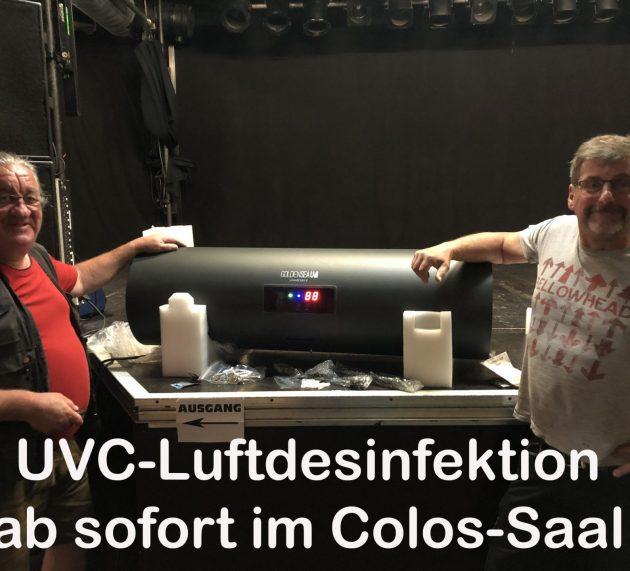 Neues aus dem Colos Saal / Aschaffenburg