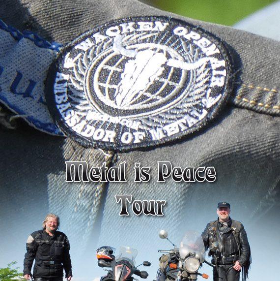 METAL IS PEACE TOUR Initiator spendet Motorrad an Haus der Geschichte